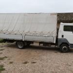 Camión para trasnportar animales
