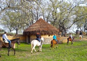 Ruta hacia el pantano de Torremenga