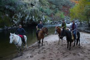 Ruta al Charco del Águila en Collado de La Vera