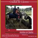 Cartel curso Terapias en Cáceres