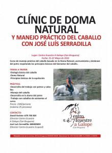 Clinic de Doma Natural en Mataró @ Centro Ecuestre A Galope (Can Bruguera) | Mataró | Catalunya | España