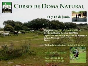 Curso de Doma Natural en Mata de Alcántara @ Mata de Alcántara | Mata de Alcántara | Extremadura | España
