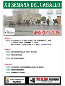 Curso didáctico de doma en Monroy @ Monroy | Extremadura | España