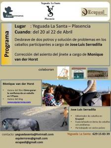 Taller de doma natural en Plasencia @ Yeguada la Santa | Plasencia | Extremadura | España