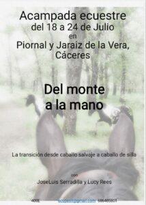 Curso Del monte a la mano @ Piornal y Jaraiz de la Vera